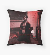 JACKSON WANG - OKAY - GOT7 Throw Pillow