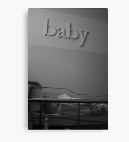 And baby makes three Canvas Print
