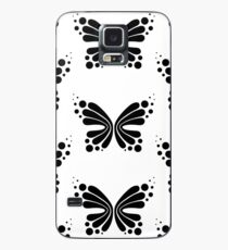 Graphic Butterfly B&W - Shee Vector Pattern Case/Skin for Samsung Galaxy