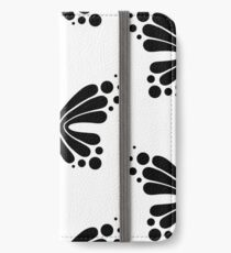 Graphic Butterfly B&W - Shee Vector Pattern iPhone Wallet/Case/Skin