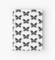 Graphic Butterfly B&W - Shee Vector Pattern Hardcover Journal