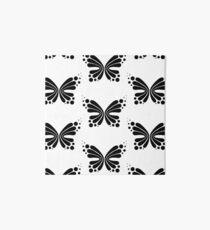 Graphic Butterfly B&W - Shee Vector Pattern Art Board