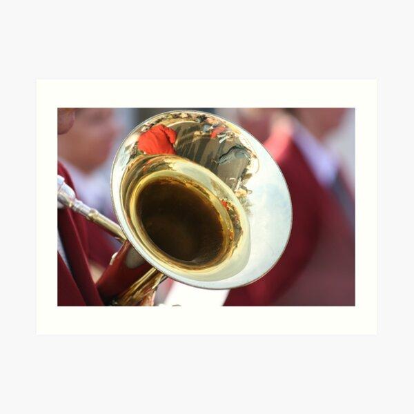 Tuba Reflections Art Print