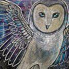 Winter Owl by Lynnette Shelley