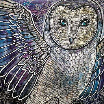 Winter Owl by LynnetteShelley