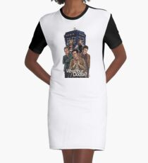 Who's Your Doctor? Graphic T-Shirt Dress