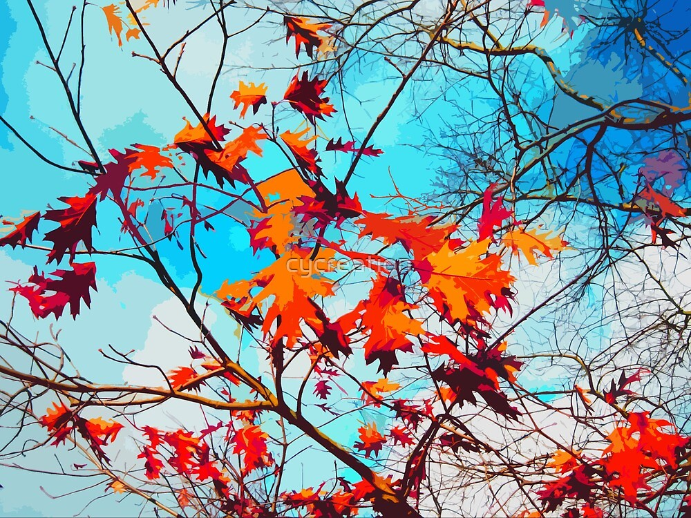 Fall leaves by cycreation
