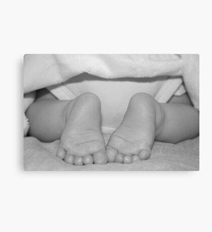 Tiny Little Feets Canvas Print