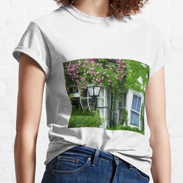 Rental Unit with Roses Classic T-Shirt