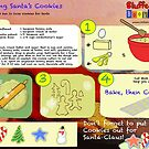 Santa's Sugar Cookies Recipe by IntenseMedia