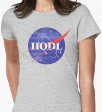 HODL Women's Fitted T-Shirt