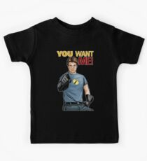 Captain Hammer - You Want Me Kids Tee