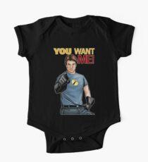 Captain Hammer - You Want Me Kids Clothes