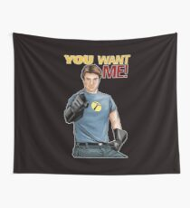 Captain Hammer - You Want Me Wall Tapestry