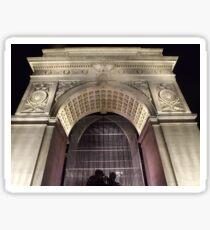 Classic Architecture, Greenwich Village, New York City  Sticker