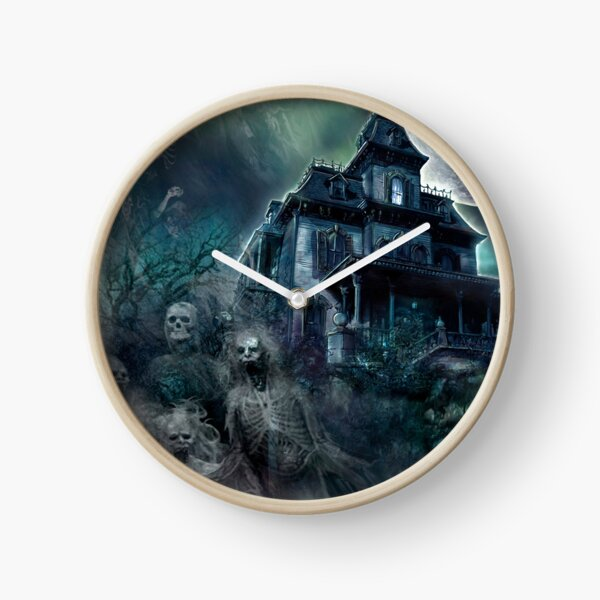 The Haunted House Paranormal Clock