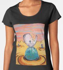 The Sun Is The Same acrylic painting Women's Premium T-Shirt