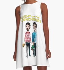 Flight Of The Conchords A-Line Dress