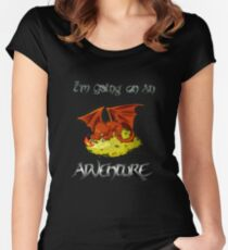 Adventure Smaug Couples Tee Women's Fitted Scoop T-Shirt