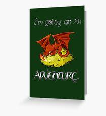 Adventure Smaug Couples Tee Greeting Card