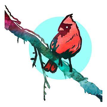 Winter Cardinal by Isondiel