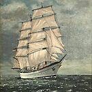 Jorge Foch - A German Sail Training ship by WILT