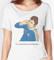 Super Hans | Versehentlich nach Windsor laufen Baggyfit T-Shirt