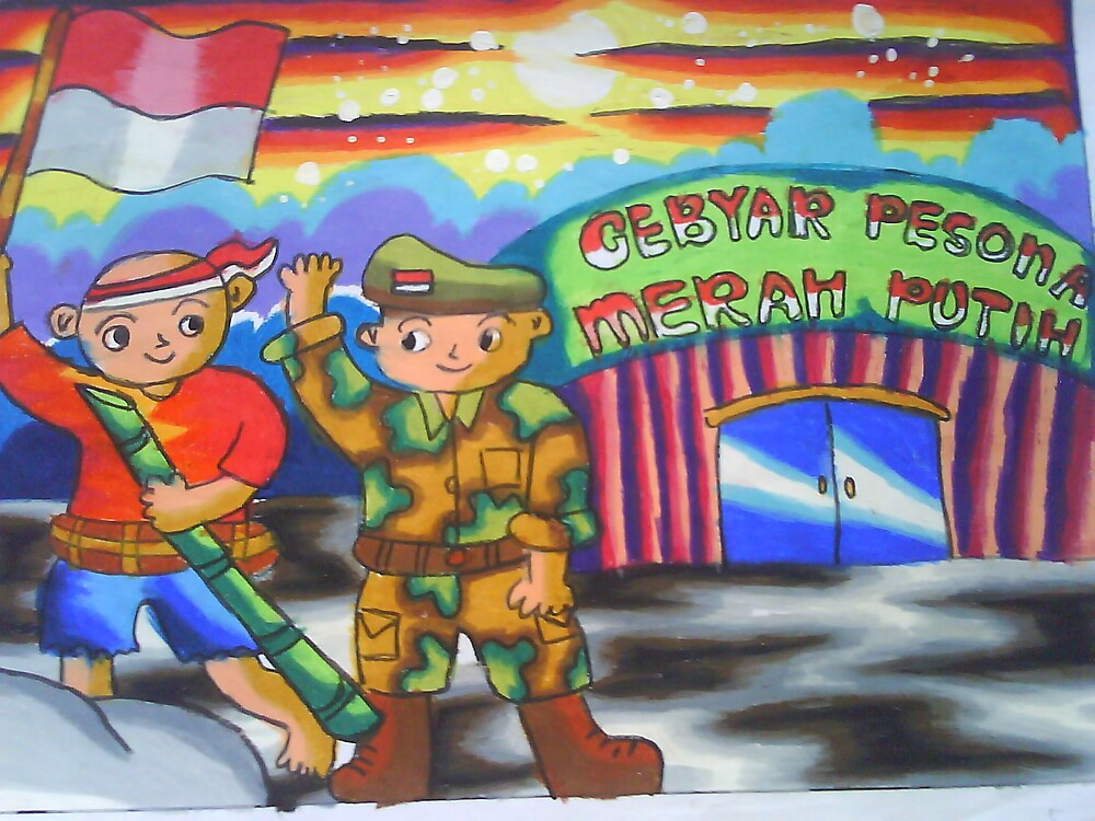 Celebration Indonesia Independence Day.. by Dea 7 yrs  by muti