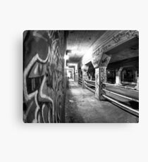 Underworld - Krog Street Tunnel in Atlanta Canvas Print