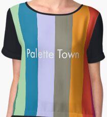 Palette Town Chiffon Top