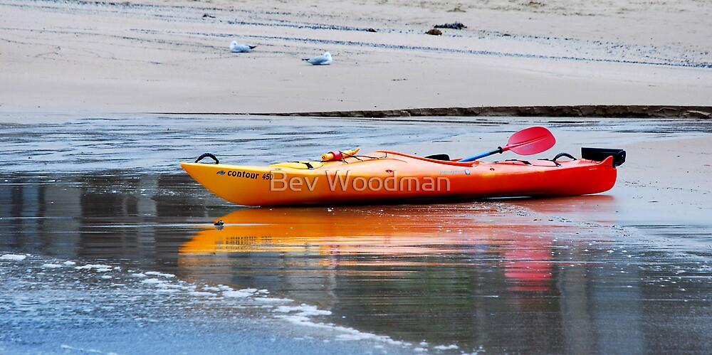 Waiting for the Tide - Boat Harbour NSW by Bev Woodman