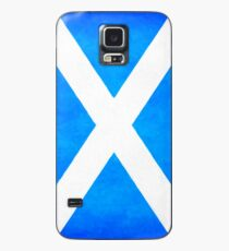 Vintage Flag Of Scotland - The Saltire Case/Skin for Samsung Galaxy
