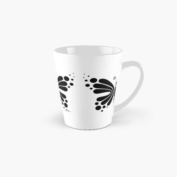 Hypnotic Butterfly B&W - Shee Vector Shape Tall Mug
