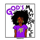 God's Masterpiece - Fro by idreamincolor