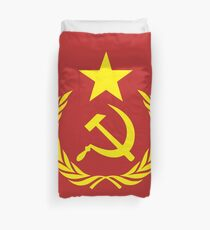 Communist Flag Duvet Cover