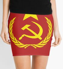 Communist Flag Mini Skirt