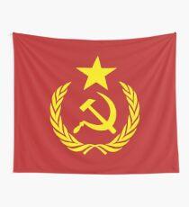 Kommunistische Flagge Wandbehang