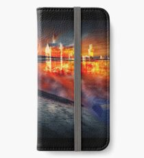 Glitches in Time iPhone Wallet/Case/Skin