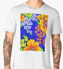 Memories of the 1970s flower power #1  Men's Premium T-Shirt