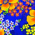 Memories of the 1970s flower power #1  by Virginia McGowan