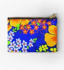 Memories of the 1970s flower power #1  Studio Pouch