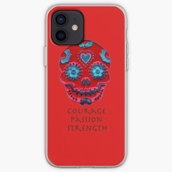 Courage, Passion, Strength iPhone Soft Case