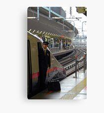 Bullet train - Driver - Tokyo Canvas Print