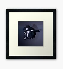 Head Escalates (Say yes to Deconstructivism)  Framed Print