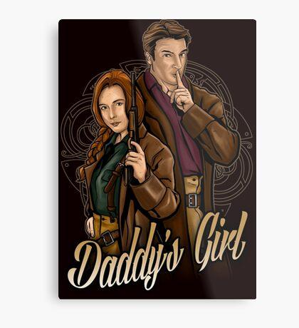 Daddy's Girl Metal Print