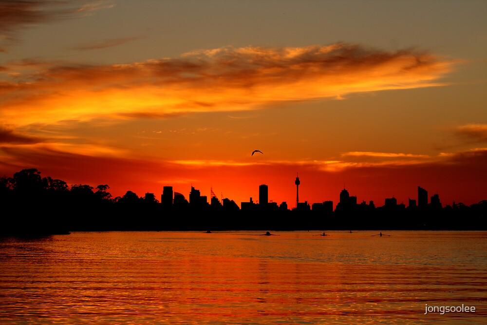 Parramatta river morning by jongsoolee