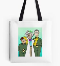 Dr. Two Brains and his Henchmen Tote Bag