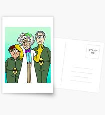Dr. Two Brains and his Henchmen Postcards