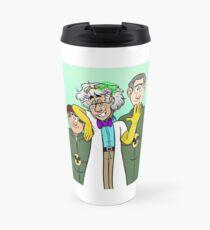 Dr. Two Brains and his Henchmen Travel Mug