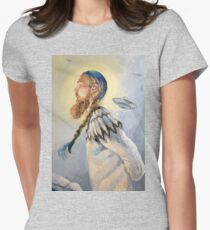 Nordic and Silver Women's Fitted T-Shirt